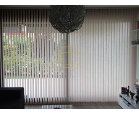 VERTICAL BLIND SHANTUNG