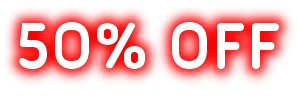 50% off in all cortains